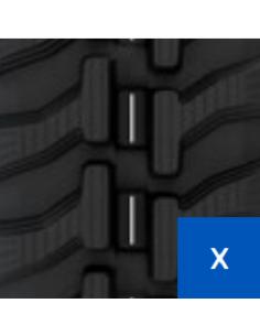 Gąsienica 180 X 32 X 72 X A R (20, 15) CAMSO SD TRACK (Construction Track) (16.2340.7755)