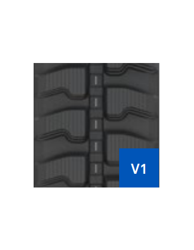 Gąsienica 400 X 76 X 72.5 V1 I EA (WIDE) (40, 25) CAMSO SD TRACK (Construction Track) (15.1776.6923) (15.1776.6923)