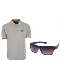 Koszulka polo JCB (S-XXXL) + Okulary przeciwsłoneczne Slazenger