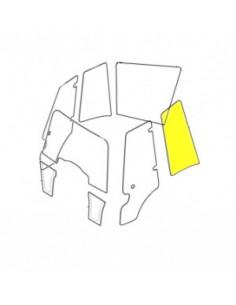 Szyba boczna, lewa(płaska) do koparko-ładowarki (827/80269)