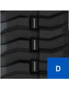 Gąsienica 250 X 57 X 72 D A P (25, 18) CAMSO SD TRACK GREY NM (szara) (Construction Track) (16.1172.7577)